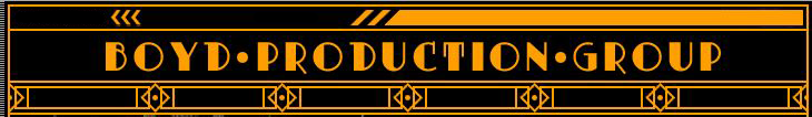 Boyd Production Group Logo